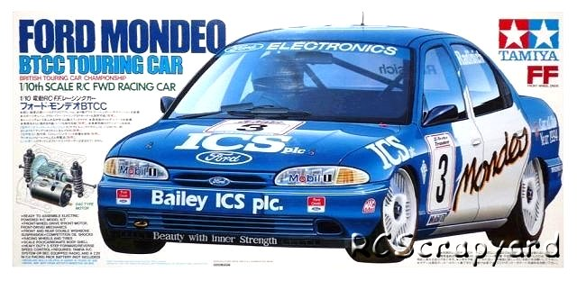 Tamiya Ford Mondeo BTCC - #58143 FF01