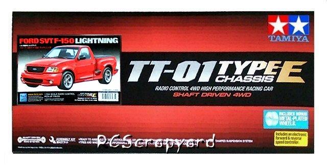 Tamiya Ford SVT F-150 Lightning - #58481 TT01E