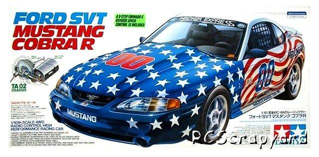 Tamiya Ford SVT Mustang Cobra R - #58169 TA02