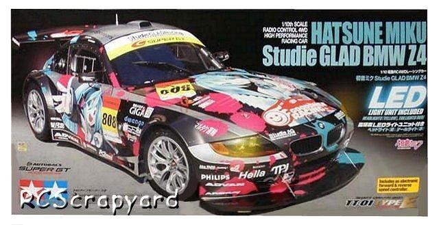 Tamiya Hatsune Miku Studie GLAD BMW Z4 - #58442 TT-01 Type-E