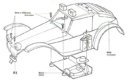 Tamiya Holiday Buggy #58023 - Body Shell