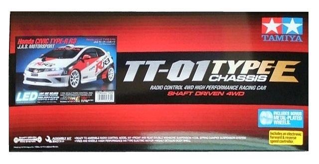 Tamiya Honda Civic Type-R R3 JAS Motorsport - #58480 TT-01 Type-E