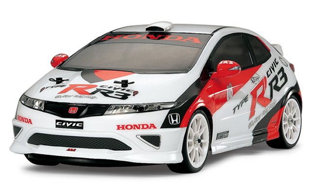 Tamiya Honda Civic Type-R R3 JAS Motorsport