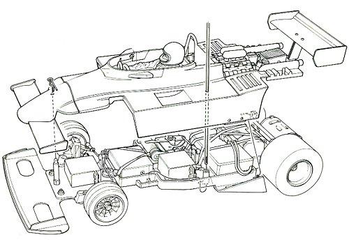 Tamiya Honda F2 (CS) #58030 Body Shell