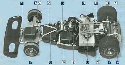 Tamiya Honda F2 (CS) #58030 Chassis