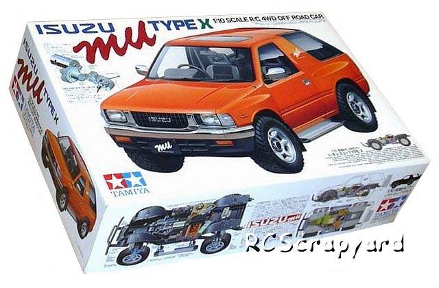 Tamiya Isuzu Mu Type X - #58166 CC01
