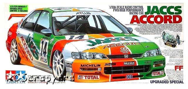 Tamiya JACCS-Accord - #58190 FF01