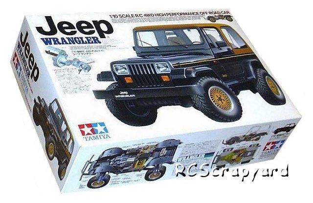 Tamiya Jeep Wrangler - #58141 CC01