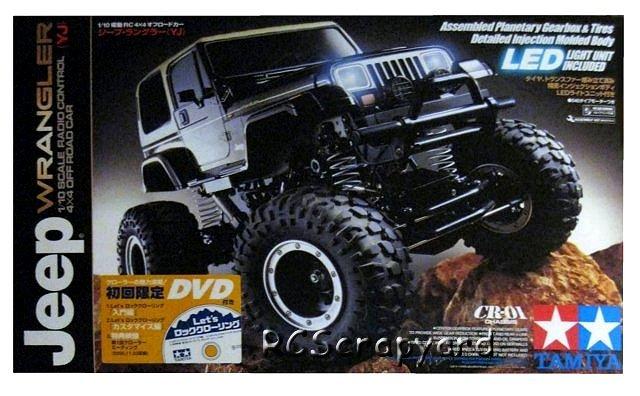 58429 • Tamiya Jeep Wrangler Rock Crawler • CR-01 • (Radio
