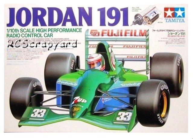 Tamiya Jordan-191 - #58103 F101
