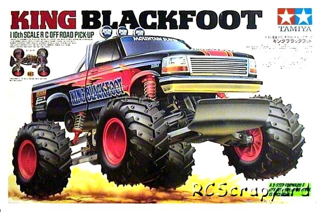 Tamiya King Blackfoot - #58192
