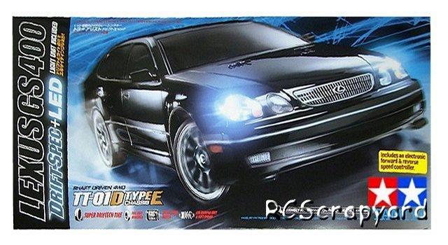 Tamiya Lexus GS 400 - Toyota Aristo - #58432 TT-01D Type-E