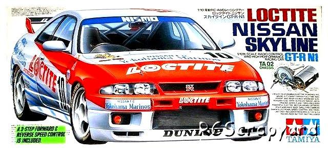 Tamiya Loctite Nissan Skyline GT-R N1 - #58155 TA02