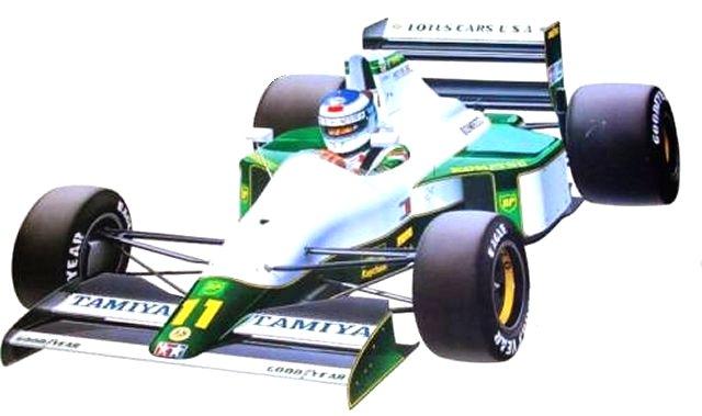 Tamiya Lotus 102B Judd - #58095 F101