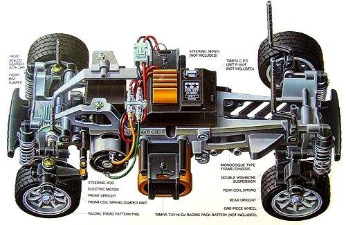 Tamiya M03 Chassis