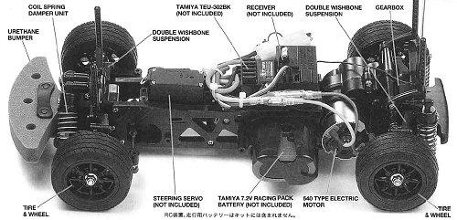 tamiya mm chassis radio controlled model archive rcscrapyard
