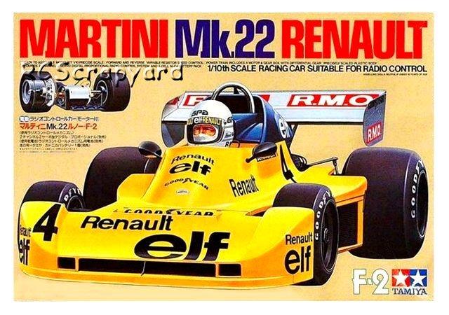 Tamiya Martini Mk22 Renault - #58014
