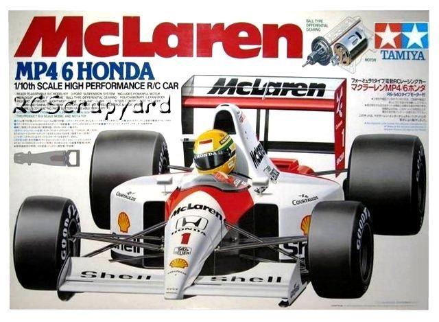Tamiya McLaren MP4/6 Honda - #58104 F102