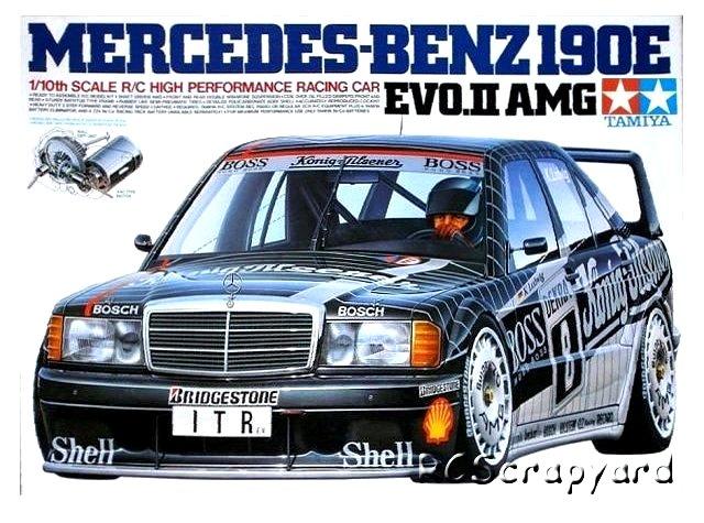 Tamiya Mercedes Benz 190E Evo II AMG - #58108 TA01