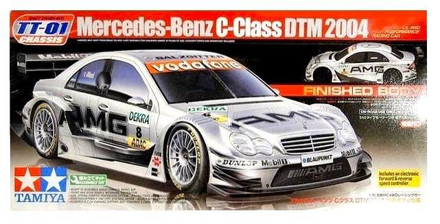 Tamiya Mercedes Benz C-Class DTM 2004 - #58341 TT01