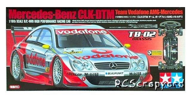 Tamiya Mercedes-Benz CLK-DTM Team Vodafone AMG-Mercedes - #58310 TB02
