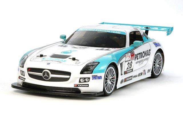 Tamiya Mercedes Benz SLS AMG GT3 - #58561 - TA06 1:10 Electric Model Touring Car