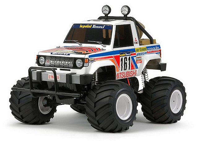 Tamiya Mitsubishi Montero Wheelie - #58499 - 1:10 Electric RC Monster Truck