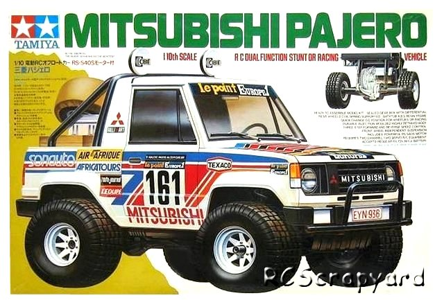 Tamiya Mitsubishi Pajero - #58044