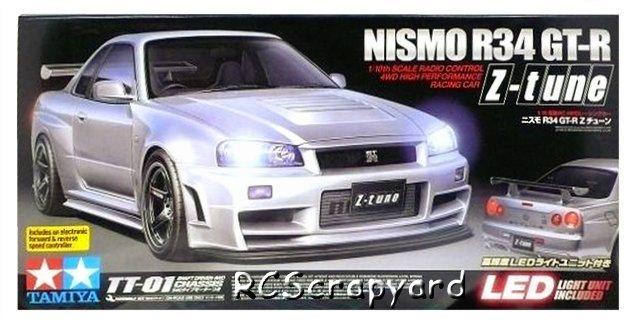 Tamiya Nismo R34 GT-R Z-Tune - #58364 TT01
