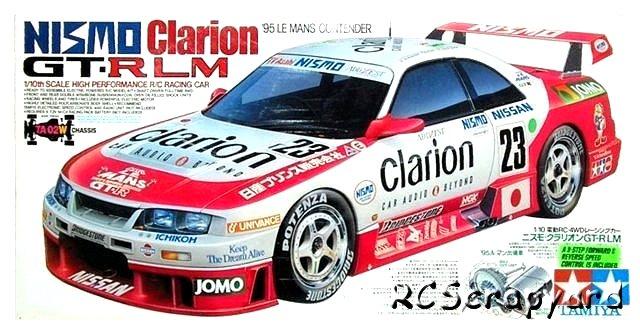 Tamiya Nismo Clarion GT-R LM - #58165 TA02W