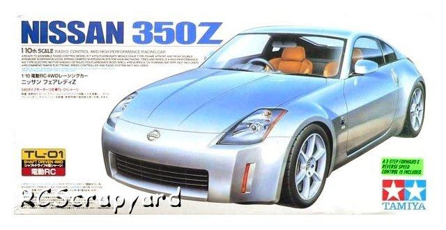 Tamiya Nissan 350Z - #58287 TL01