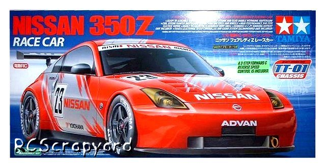 Tamiya Nissan 350Z Race Car - #58304 TT01