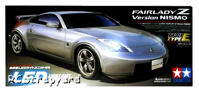 Tamiya Nissan Fairlady Z Version NISMO - #58402 TT01 Type-E