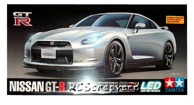 Tamiya Nissan GT-R - #58411 TT01 Type-E