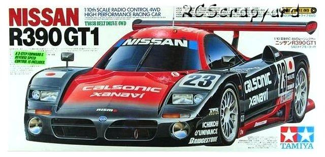 Tamiya Nissan R390 GT1 - #58203 TA03R
