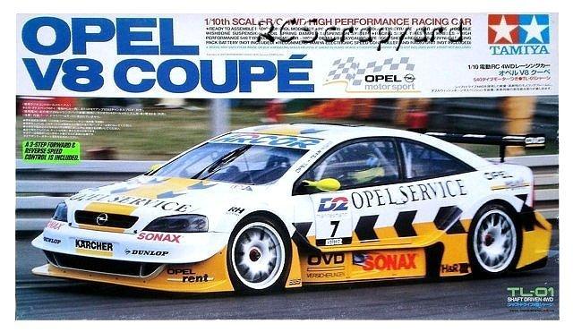 Tamiya Opel V8 Coupe - #58263 TL-01