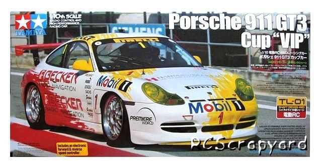 Tamiya Porsche 911 GT3 Cup VIP - #58283 TL-01