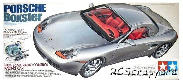 Tamiya Porsche-Boxster - #58197 M-02L
