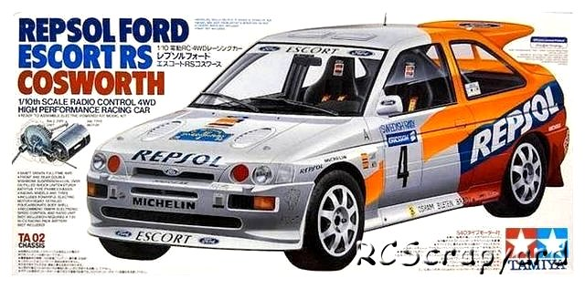 Tamiya Repsol Ford Escort RS Cosworth - #58176 TA02
