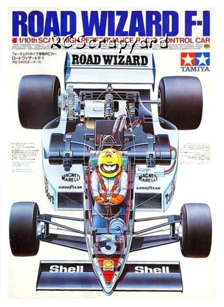 Tamiya Road Wizard F1 - #58053