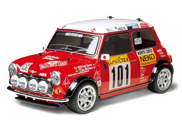 Tamiya Rover Mini-Cooper-94-Monte-Carlo - #58483 M-05