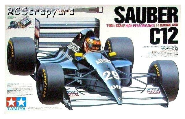 Tamiya Sauber-C12 Box - #58130 F103