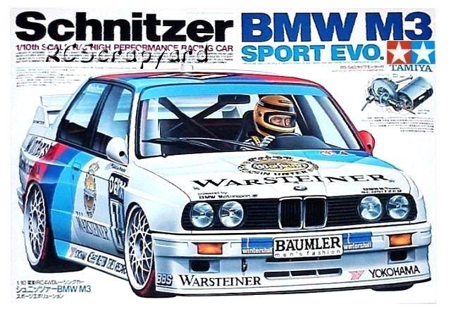 Tamiya Schnitzer BMW M3 Sport Evo - #58113 TA01