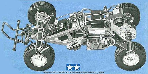 Tamiya Subaru Brat #58038 Chassis