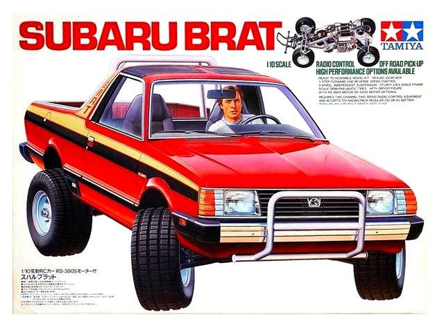Tamiya Subaru Brat - #58038