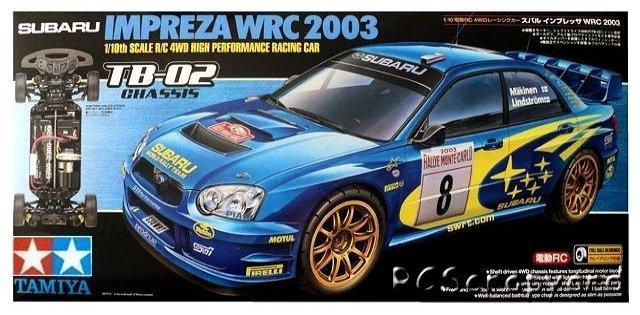 Tamiya Subaru Impreza WRC 2003 - #58316 TB-02