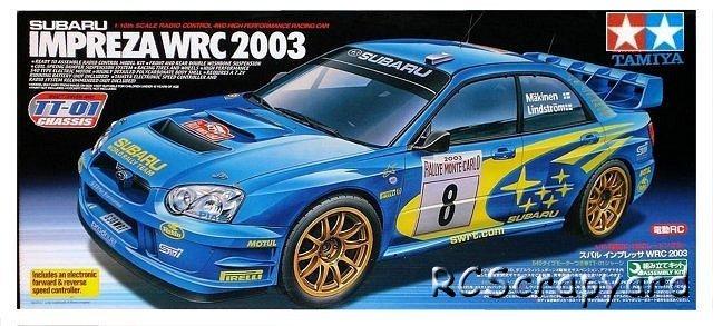 Tamiya Subaru Impreza WRC 2003 - #58305 TT-01