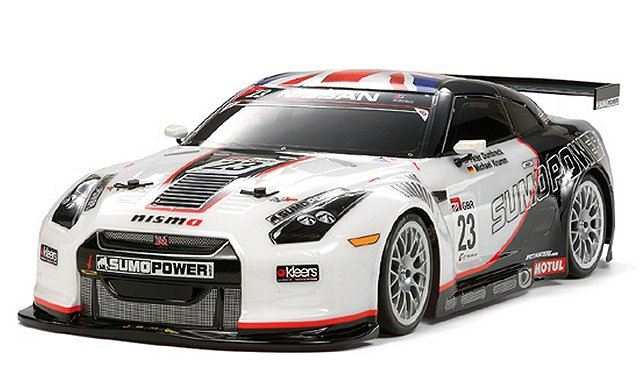 Tamiya Sumo Power GT Nissan GT-R - #58488 TA06 - 1:10 Electric RC Touring Car