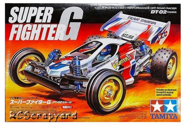 Tamiya Super Fighter G - #58340 DT02