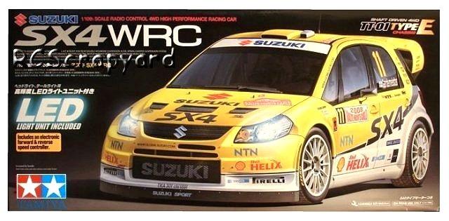 Tamiya Suzuki SX4 WRC - #58408 TT-01E